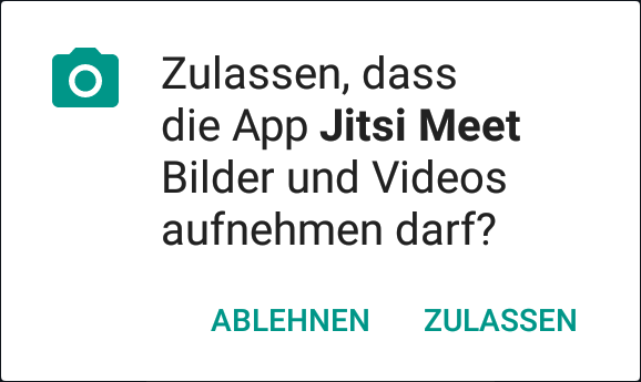 Android Zugriff Video