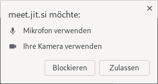 Zugriff in Chrome